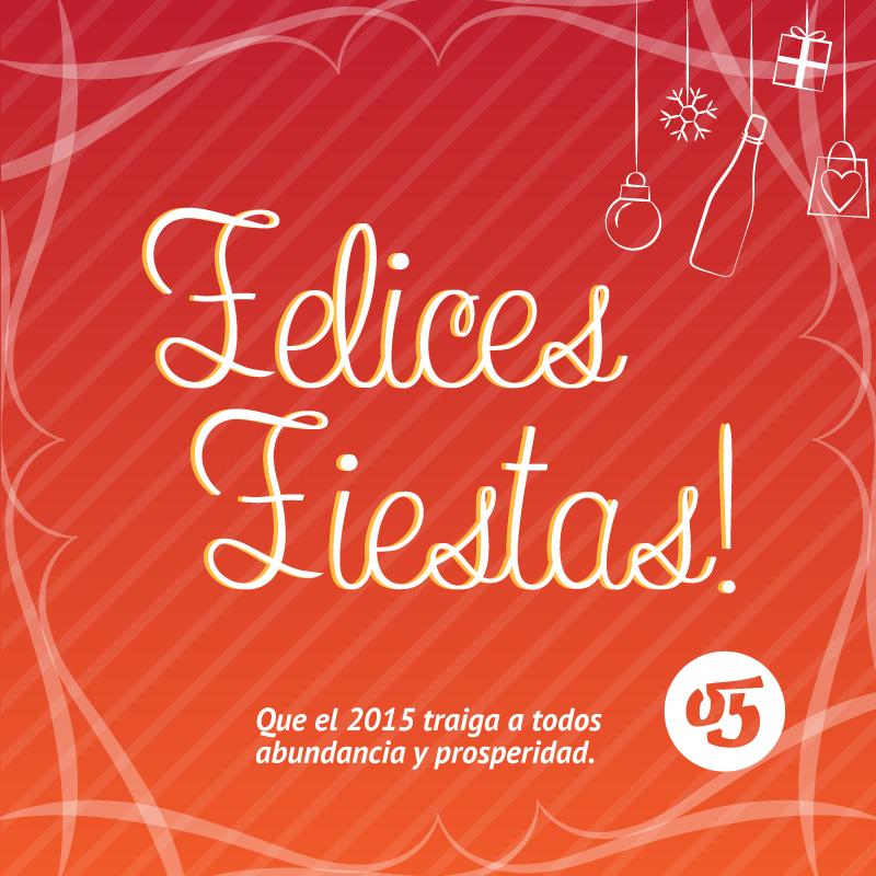 Felices fiestas 2015!